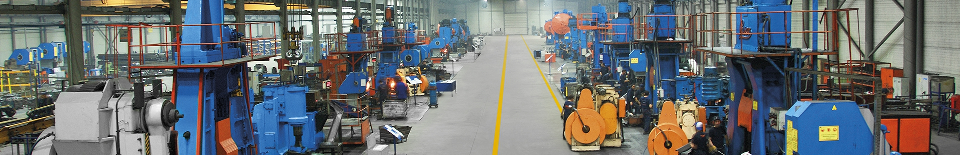 Our steel forging factory keeps growing with new equipment.